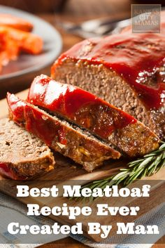 The BEST quick and EASY Meatloaf Recipe Ever Created by http://Man...it is that AWESOME via http://KansasCityMamas.com