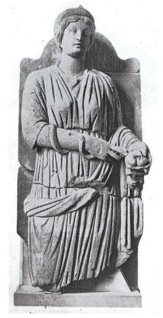 Sirona of Hochscheid. This Gaulish goddess of health and well-being was closely associated with Apollo Grannus.