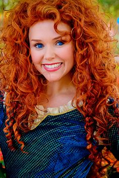 Merida at Disney World - From Pixar's Brave!