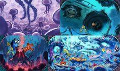 Concept Art Finding Nemo