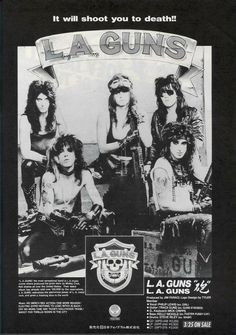 The fabulous LA GUNS