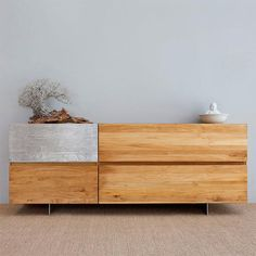 B L O O D A N D C H A M P A G N E . C O M: is a visual feast of beautiful decor! Love this piece for example. Think outside the box and you will find much inspiration for creating items out of beautiful solid bamboo boards.