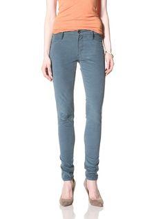 0% OFF James Jeans Women's Skinny Jean (Mid Teal)