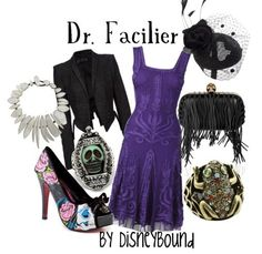 Dr.facilier by disneybound