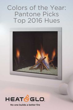 A blend of Rose Quartz and Serenity has been revealed as the hot color to watch in See how it can affect your Heat & Glo fireplace. Color Of The Year, Color Trends, Pantone, Rose Quartz, Serenity, Watch, Hot, Clock, Pink Quartz