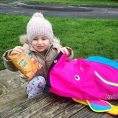 A Blog Review of 'Coral the Tropical Fish' – Medium PaddlePak by Trunki   How awesome is this 'swimming' bag by Trunki?  I was super excited to show Bella when it arrived and she immediately wanted to use it.  That evening she was off to Nana's for a sleepover, so we moved her staying over gear from her usual backpack to Coral the tropical fish!  I wasn't sure it would fit, but we managed to pack in a spare set of clothes, pyjamas, her two favourite teddies (smallish ones) and a toy car! ...