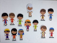 Joseph and his brothers printables
