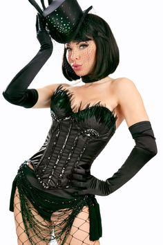 Dance Hall Doll Corset by Trashy. Available at http://shop.trashy.com