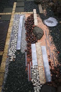 Best Small Yard Landscaping & Flower Garden Design Ideas - New ideas Garden Paving, Sunken Garden, Garden Stones, Garden Paths, Japanese Garden Landscape, Japanese Garden Design, Flower Garden Design, Small Yard Landscaping, Landscaping With Rocks