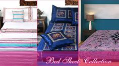Buy bed cover online, cotton bed sheets in double size in india at best prices only on Carpetandtextile Store.