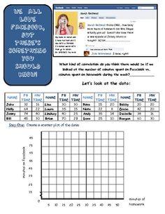 Line of Best Fit/Trend Line/Scatter plot Notes Practice image 2 Math 8, Teaching Math, Teaching Ideas, Plot Activities, Line Of Best Fit, Scatter Plot, 8th Grade Math, Algebra 1, Do Homework
