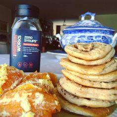 Toffee fudge sundae lowcarb pancakes (sushiiiiiiii lunch) tudo da @mws.pt a melhor loja  (não não me pagam pela publicidade)  120 g de claras 20 g de whey de toffee fudge sundae 5 g despertar do Buda 35 g de abóbora cozida uma colher de iogurte grego fermento bicarbonato 1 scoop de husk e meia colher de café de goma xantana. #proteinpancakes #maispertoqueontem #amelhorversãodenós #fitnotskinny #fitnessportugal #fitnesssavemylife #fitgirlslookgoodnaked #carbsforabs #sagafitpt  #eatofit…