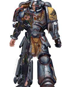 Warhammer Art, Warhammer Models, Warhammer 40000, Games Workshop Paints, Wolf, Deathwatch, Imperial Fist, Space Wolves, Space Marine