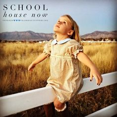 Prairie Outfitters School House Dress Now Offered-Small Batch -American Made -Your Designer #prairieoutfitters #prairiestyle #couturekids #childfashionmodel #homeschooling #homeschool #childmagazine #smalltownlife #smalltown