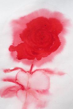 'Rose' Maria Roosen watercolor