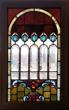 American Antique Stained Glass