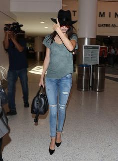 June 20, 2015 - Kendall Jenner at LAX Airport.