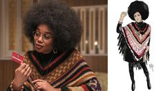 'BlacKkKlansman' Costume Designer Talks Perfecting the Black Power Look Black Panther Party Costume, Black Power, Black Panther Party Members, Leather Trench Coat, Trench Coats, African American Men, Vintage Crochet, Costume Design, Fashion Outfits