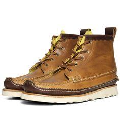 Yuketen Maine Guide 5-Eye DB Boot (Buccaneer Brown ) - $630.00