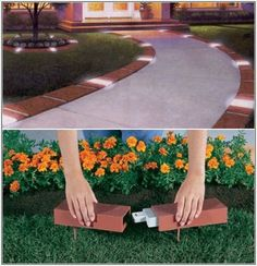 Garden Ideas With Bricks brick front yard landscaping photo albums. landscaping ideas north
