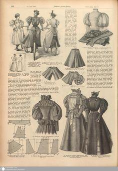 1890s Fashion, Edwardian Fashion, Vintage Fashion, Edwardian Era, Camping Attire, Victorian Costume, 19th Century Fashion, Vintage Dress Patterns, Fantasy Costumes
