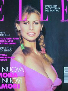 Niki Taylor - Elle Italia 1993 by Gilles Bensimon