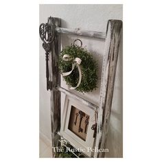 Rustic Bathroom Ladder -Farmhouse Ladder ($129) ❤ liked on Polyvore featuring etsy
