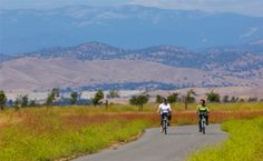 Pedal along the San Joaquin River Parkway. http://www.visitcalifornia.com/region/discover-central-valley