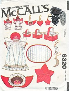 McCall's Carefree Pattern 6320 Christmas Decorations Super Pack McCall's http://www.amazon.com/dp/B007KGZSWM/ref=cm_sw_r_pi_dp_XlQZwb12EC7NH