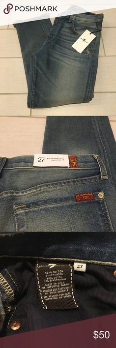 Girlfriend Relaxed Skinny Crop Jeans Brand New With Tags - Girlfriend Relaxed Skinny Crop Jeans - Size 27 in. - inseam 24.5\