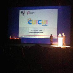 Premios AJE Asturias 2014 Sabadell Cuicui