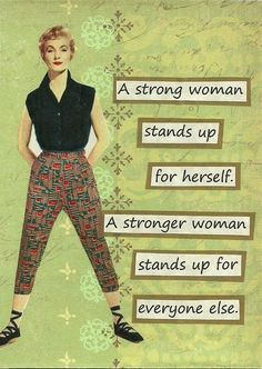We are Fearless Friends!!  strong women