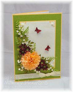Mainly Flowers Independent Stampin' Up! Demonstrator Joanne Gelnar: 75th Birthday Flowers