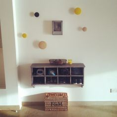 My new wall/entrance display with the Muuto Dots!