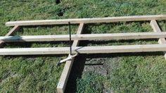 La respuesta es sí, se puede montar una pérgola de madera sin gastar, y aquí tenéis la prueba.