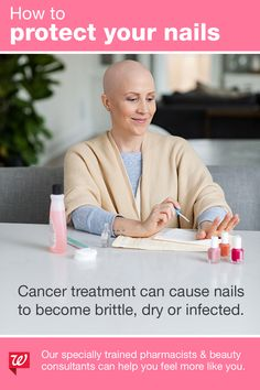 We've partnered with Look Good Feel Better® to provide extra training to our pharmacists and beauty consultants to help those living with cancer feel more like themselves. Cancer Treatment, Cancer Support Community, Chemo Care, Nail Care Tips, Nail Repair, Pharmacists, Hair Removal Methods, Skin Tag Removal, Bling Nails