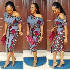 Check out this Fashionable latest african fashion look African Dresses For Women, African Print Dresses, African Print Fashion, Africa Fashion, African Attire, African Wear, African Fashion Dresses, African Women, African Prints