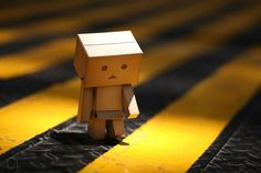 Art Sad Box Danbo Amazon Robot People Cute Little