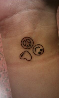 Peace love happiness tatted up pinterest index for Peace love happiness tattoo