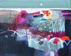 Scottish Artist Emma S DAVIS-Criss Cross