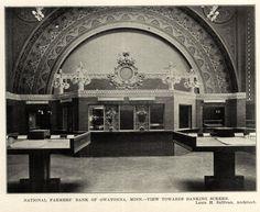 Inside Louis Sullivan's National Farmers' Bank, Owatonna