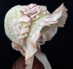 Puppenhut Strohhut Schutenhut 29,5 cm | eBay
