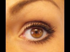 How to: Small Eyes Bigger (rounder) holy cow there is a HUGE difference! <3 her videos.