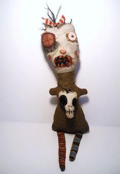 Handmade monster dolls by Portland Oregon artist Catherine Zacchino  aka Junker Jane   Google Image Result for http://www.meanderingsinthread.com/wp-content/uploads/2012/01/junker_jane_4.jpg