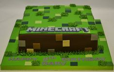 Square Minecraft Cake