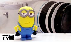 8800mah Despicable Me Minions Cute Cartoon Power Bank Portable Charger Emergency External Battery For iphone6 6s samsung s5 s6