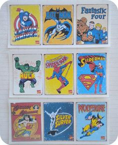 Vintage Superhero Stickers ($5): Seal your thank-you notes with these Vintage Superhero Stickers to remind your friends and family of the special day.