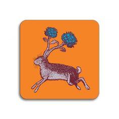 Avenida Home Puddin' Head Hare Coaster