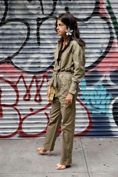 Three ways to dress up or down a boiler suit