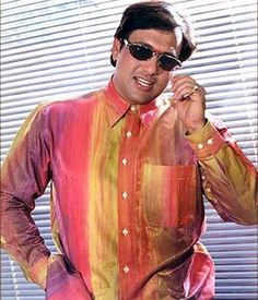 This list would not have been complete without including this actor. Though he is the only male actor in this long list, he deserves to be on the top spot. He has been known to sport bright and, most often, uncoordinated colours like Yellow, Green and Red. In fact, these types of outfits were termed as Govinda-style. Sport Fashion, 90s Fashion, Bollywood, Dress Up, Celebs, Bright, Actors, Yellow, Red